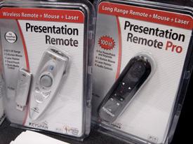 presentation remotes