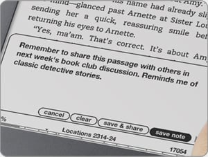 kindle annotations
