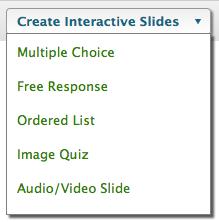create interactive activity