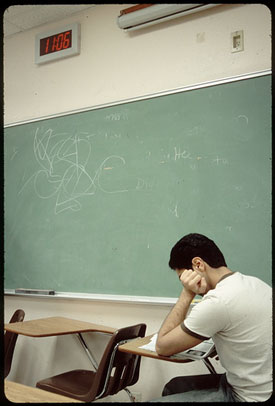 shy student