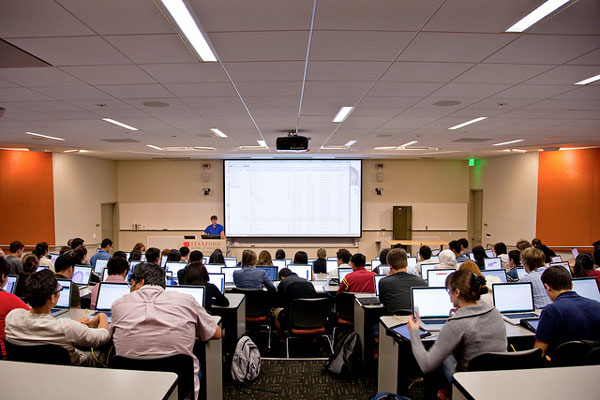stanford laptops in lecture