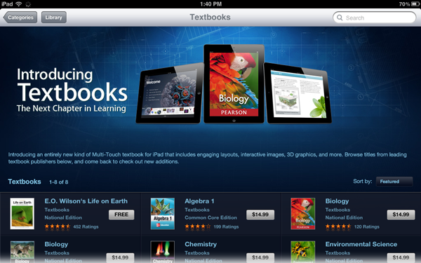 apple ibooks textbooks