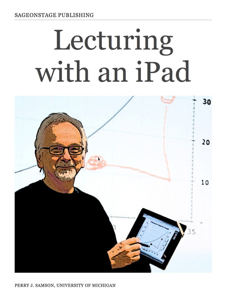 Lecturing with an iPad eBook
