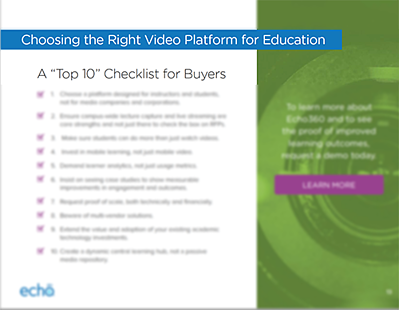 Top 10 Checklist for Buyers: Choosing the Right Video Platform for Education